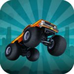 Zombie Monster Truck War Game 2D
